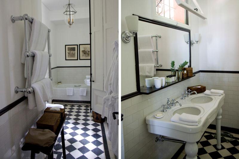 Carrelage Salle De Bain Noir Et Blanc : Deco salle de bain carrelage noir et blanc