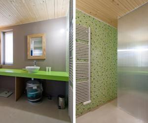 Deco salle de bain gris et vert - Salle de bain gris et vert ...