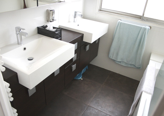 Deco salle de bain petit espace - Salle de bain dans petit espace ...