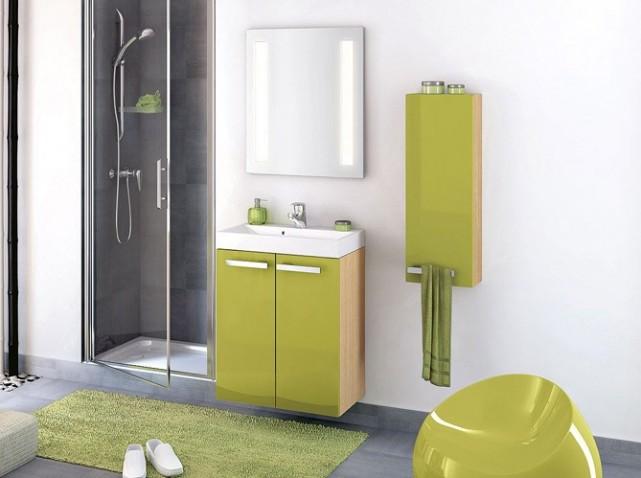 Deco salle de bain petite - Modele petite salle de bain ...