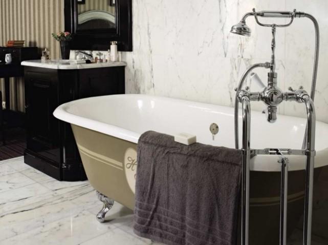 salle de bain retro photo photo deco salle de bain retro - Salle De Bain Vintage Design