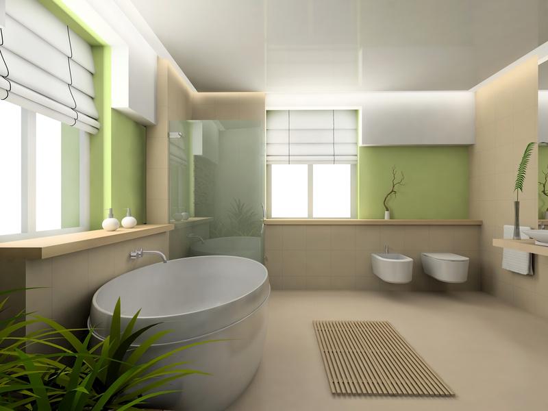 Idee deco salle de bain nature zen with idee deco salle de bain