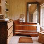 deco salle de bains bois
