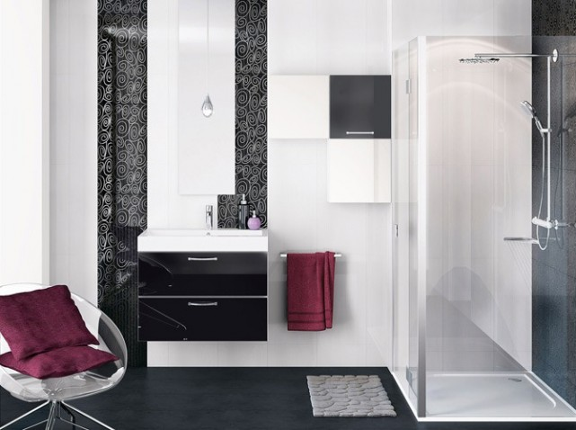 Emejing Salle De Bain Fushia Et Blanc Ideas - House Design ...