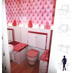 deco toilettes insolites. Black Bedroom Furniture Sets. Home Design Ideas