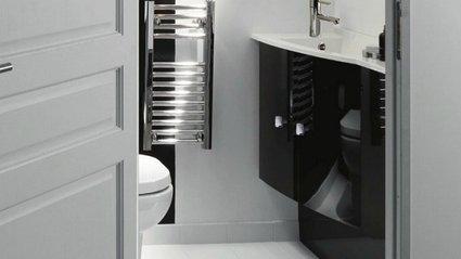 deco wc chic. Black Bedroom Furniture Sets. Home Design Ideas