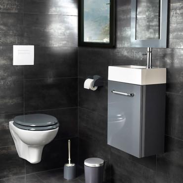 deco wc contemporain. Black Bedroom Furniture Sets. Home Design Ideas