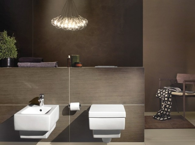 Deco wc contemporain - Decoration de toilettes zen ...