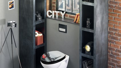 Abattant wc new york elegant planche stickers wc deco toilettes