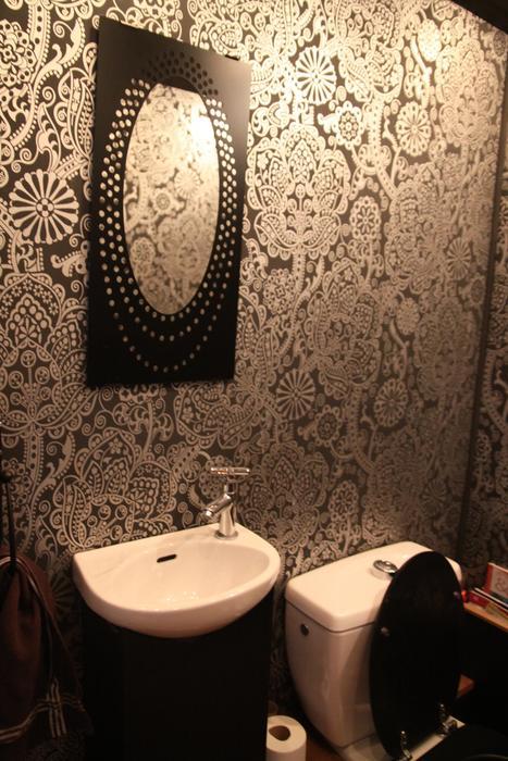 Deco wc papier peint - Papier peint pour toilette ...