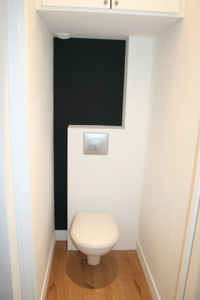 Deco wc suspendu design for Idee deco toilette design