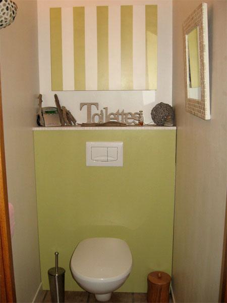 Deco wc vert - Decoration wc zen ...