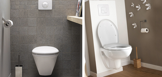 Photos toilettes design images - Idee deco peinture wc ...