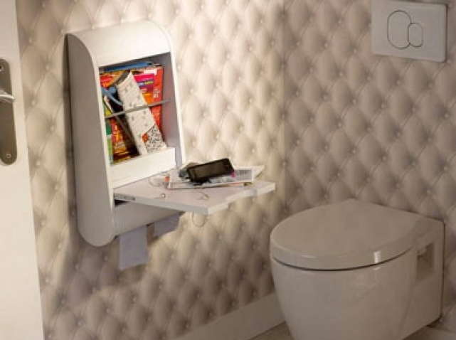 Photo idee deco wc original