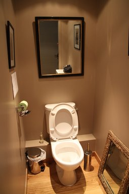 Jolie idee deco wc original
