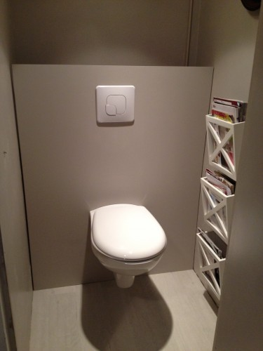 Idee deco wc suspendu - Decoration toilette suspendu ...
