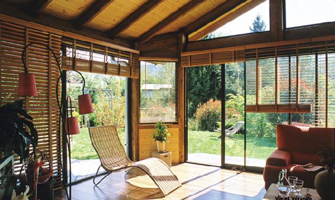 Comment decorer une petite veranda - Comment mettre une moustiquaire ...