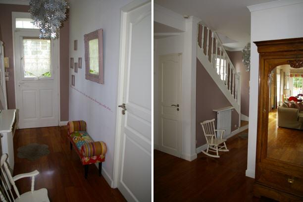 d co entr e avec escalier. Black Bedroom Furniture Sets. Home Design Ideas