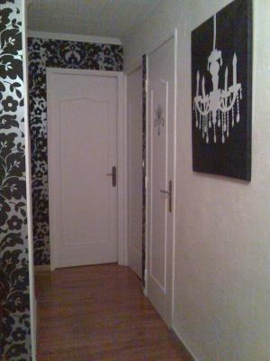 Emejing papier peint entree couloir contemporary amazing house