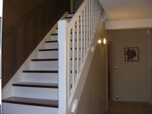 D co entr e couloir escalier for Decoration entree escalier