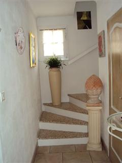 Photo déco entrée couloir escalier