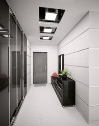 D co entr e couloir gris - Deco couloir gris ...