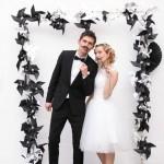 déco entrée de salle mariage