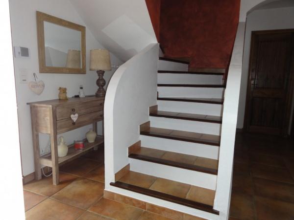 D co entr e escalier for Decoration escalier maison