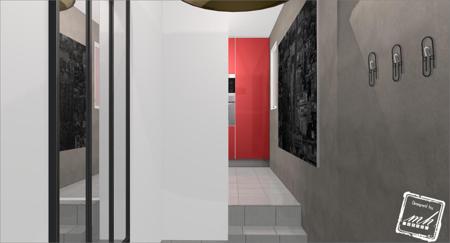 photo decoration d co entr e interieur. Black Bedroom Furniture Sets. Home Design Ideas