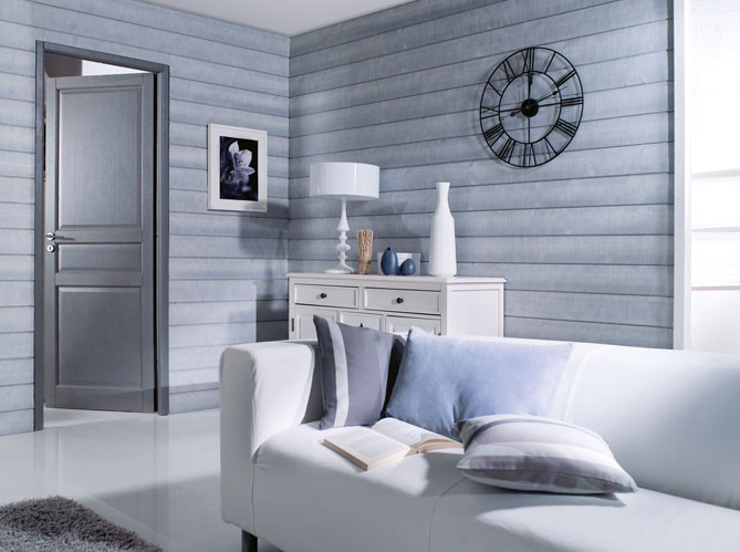 chambre comble lambris lambris chambre adulte moderne megve design photo - Chambre Adulte Lambris