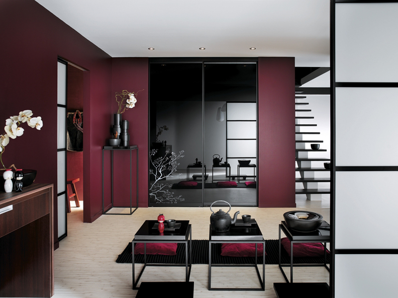d co entr e maison moderne. Black Bedroom Furniture Sets. Home Design Ideas