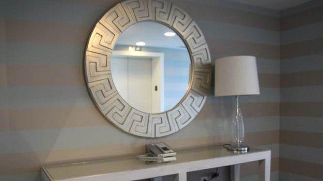 déco entrée miroir