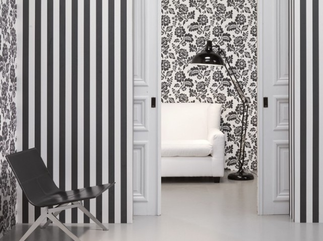 d co entr e papier peint. Black Bedroom Furniture Sets. Home Design Ideas