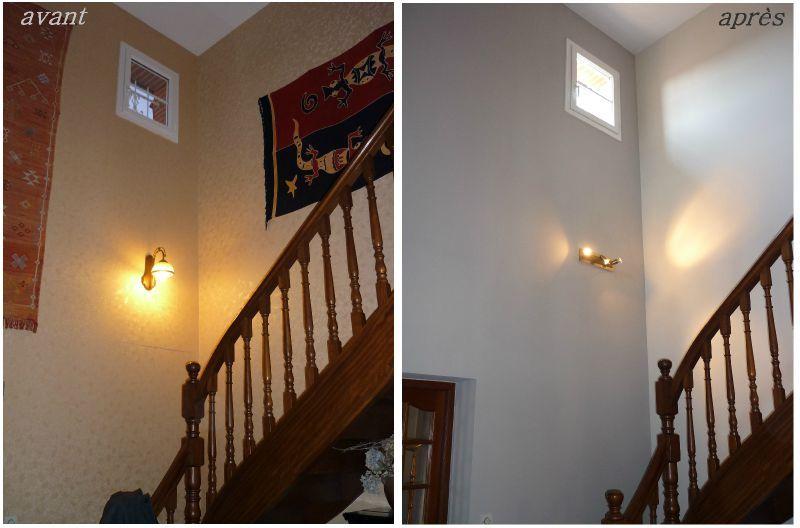 Decoration Hall D Entree Avec Escalier : Déco hall d entrée avec escalier