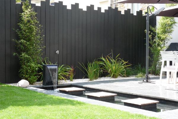 D co jardin avec bambou for Amenagement deco jardin