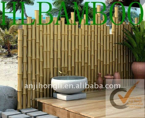D co jardin bambou for Idee deco bambou