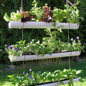 decoration de jardin recup