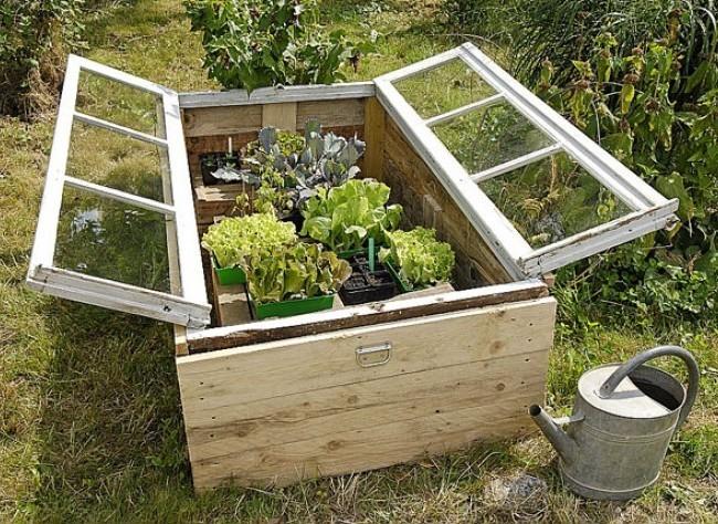 D co jardin recup gratuit for Deco jardin recup