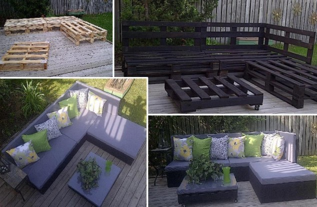 D co jardin recup gratuit for Exemple deco jardin