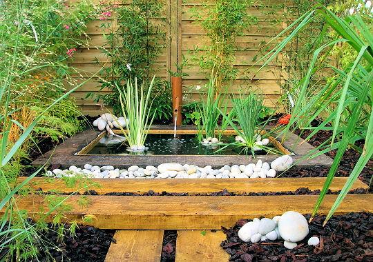 D co jardin zen for Exemple de deco jardin