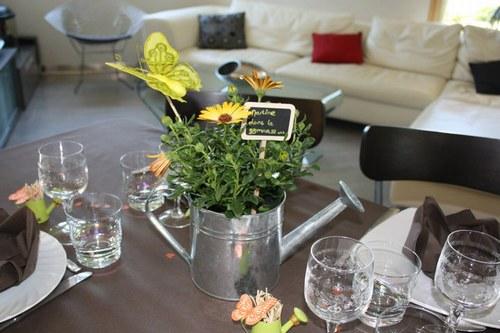 D co jardinage pour table - Deco jour de l an ...