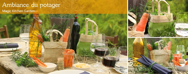 D co jardinage pour table for Jardinage decoration jardin