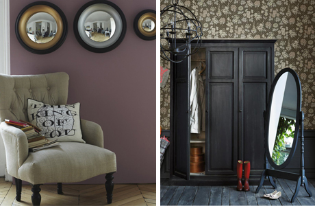 d co murale pour une entr e. Black Bedroom Furniture Sets. Home Design Ideas