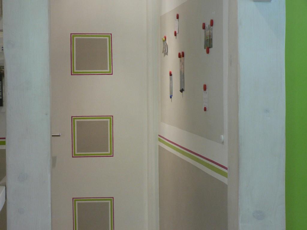 aménagement déco peinture entrée et couloir - Peinture Entrée