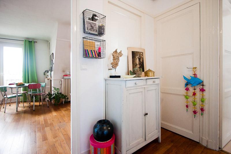 décoration petite entrée appartement