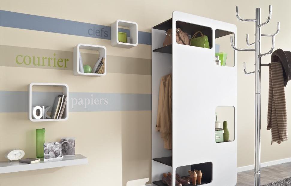 d co pour une entr e. Black Bedroom Furniture Sets. Home Design Ideas