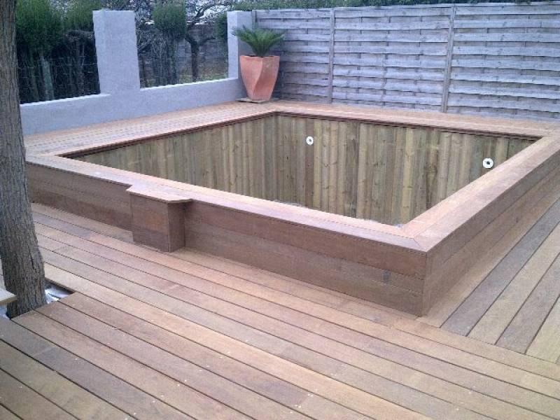 D co terrasses bois for Amenagement veranda terrasse
