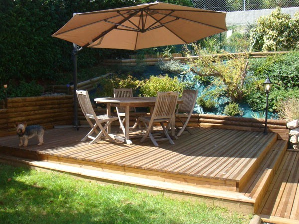 D co terrasses bois for Modele terrasse exterieur