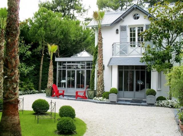 Amenagement veranda exterieur id e - Verriere exterieure et veranda deco de printemps et dete ...