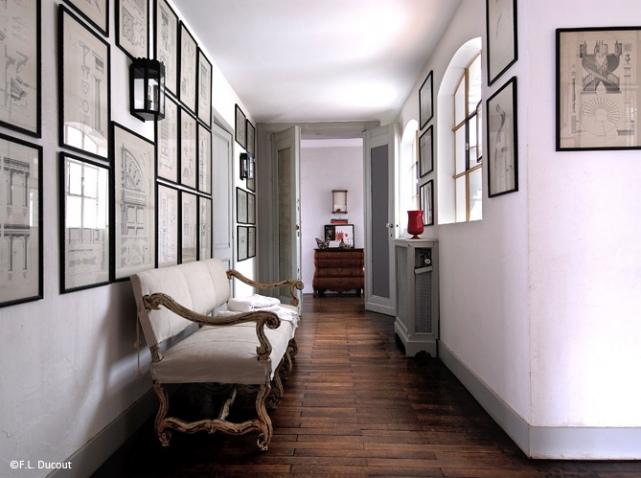 Photo décoration couloir entrée